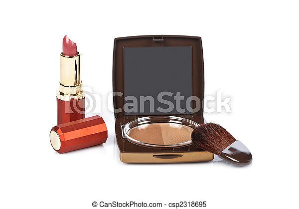 Assortment of makeups - csp2318695