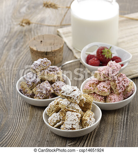 Assortment Of Shredded Wheat Cereal - csp14651924