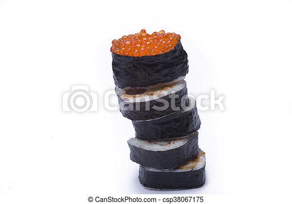 assortment sushi - csp38067175
