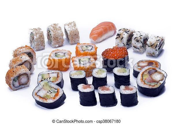 assortment sushi - csp38067180