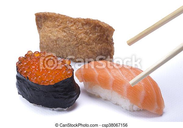 assortment sushi - csp38067156