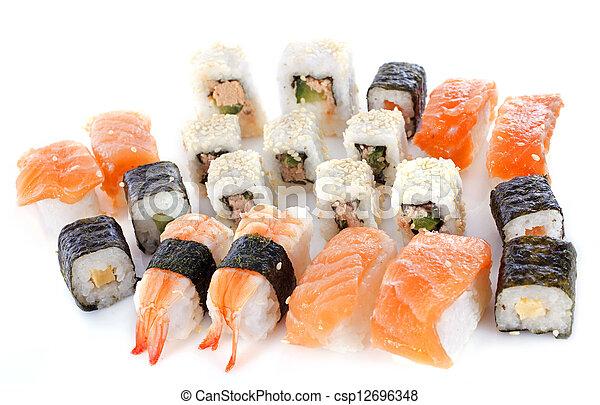 assortment sushi - csp12696348