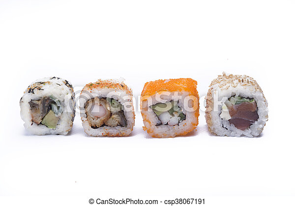 assortment sushi - csp38067191