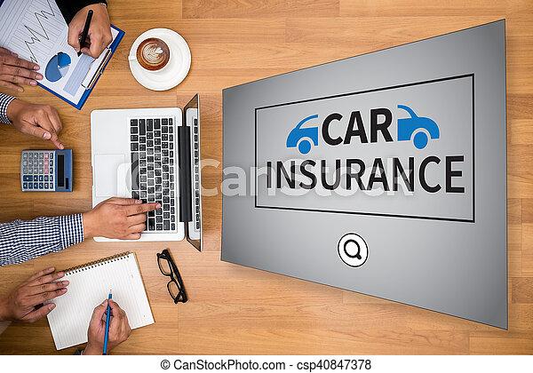 assurance voiture - csp40847378