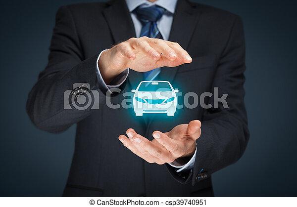 assurance voiture - csp39740951