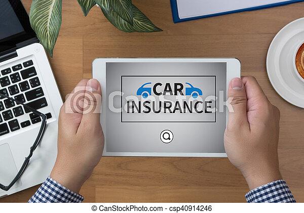 assurance voiture - csp40914246