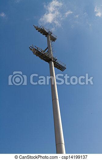 El poste de luz - csp14199137