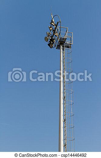 El poste de luz - csp14446492