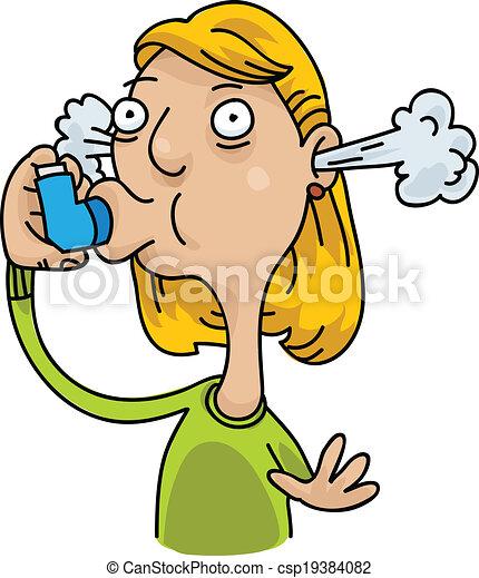 Asthma Inhaler - csp19384082