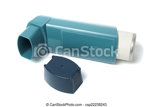 Asthma inhaler - csp22238243