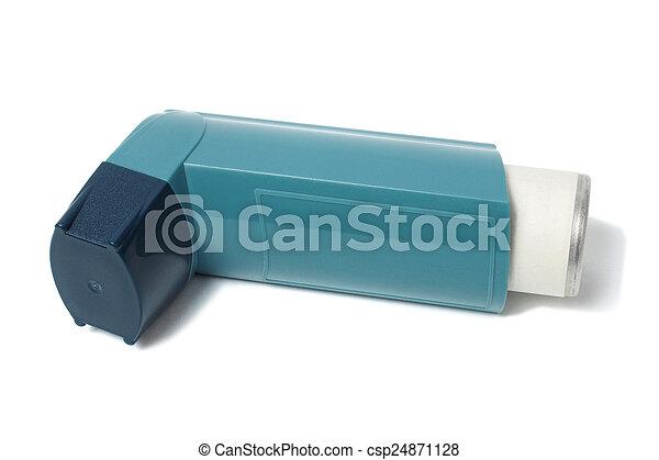 Asthma inhaler - csp24871128