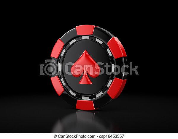 Chip de casino - csp16453557