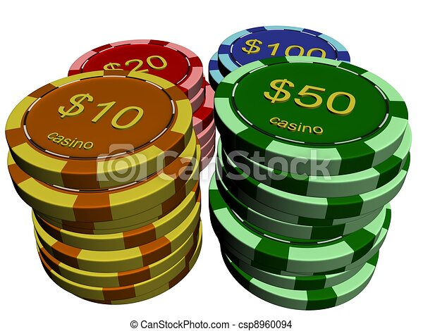 Chip de casino - csp8960094