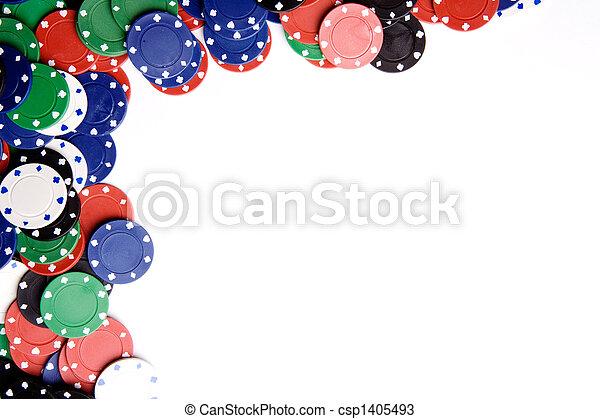 Un fondo de chip casino - csp1405493