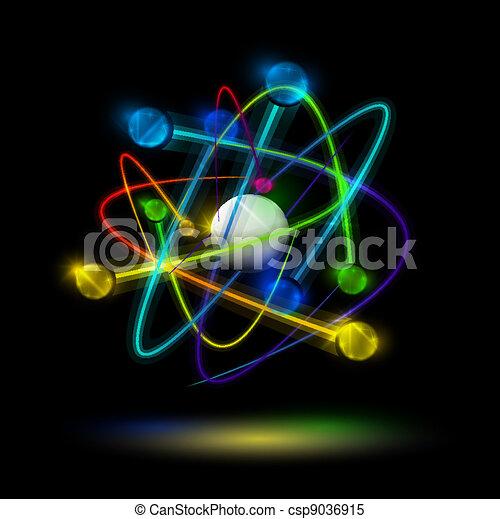 astratto, atomo - csp9036915