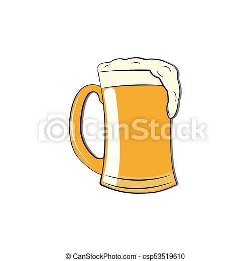 astratto, birra, delizioso - csp53519610