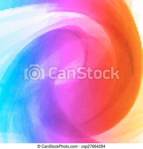 astratto, colorito, fondo - csp27664284