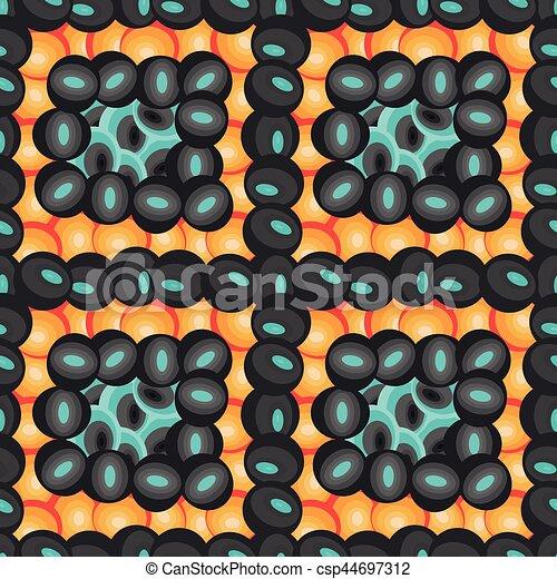 astratto, colorito, geometrico, fondo, seamless - csp44697312