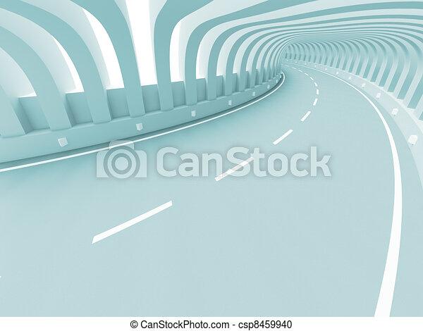 astratto, costruzione, strada - csp8459940