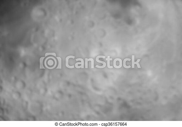 astratto, pieno, offuscamento, luna - csp36157664