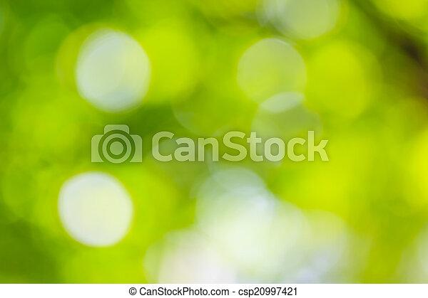 Astratto Sfondo Verde Natura Natura Astratto Fuoco Selettivo