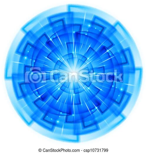 astratto, stella - csp10731799