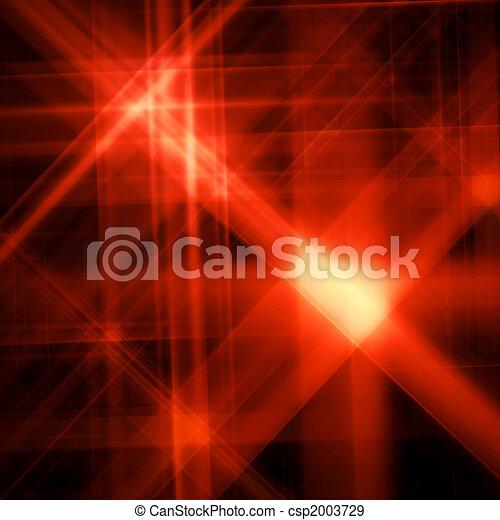 astratto, stella, fondo, splendere, rosso - csp2003729