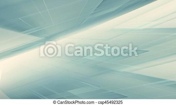 astratto, tecnologia - csp45492325