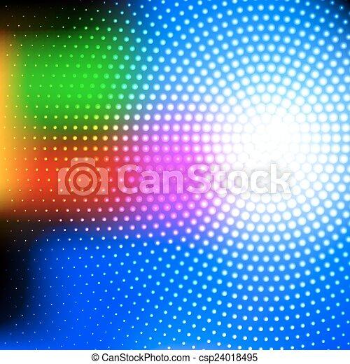 astratto, tecnologia, fondo - csp24018495