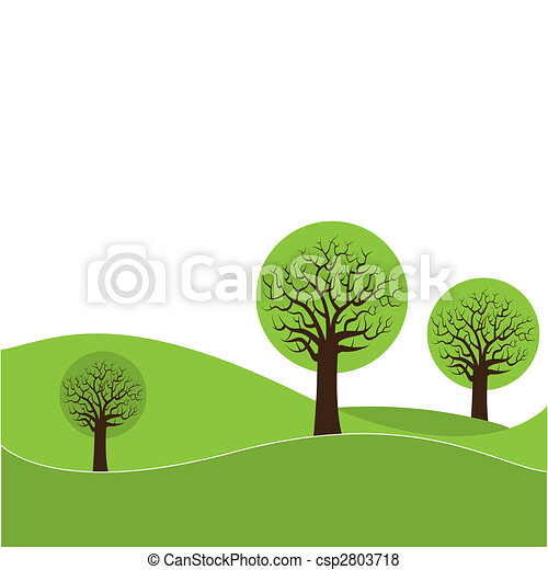 astratto, tre, albero - csp2803718