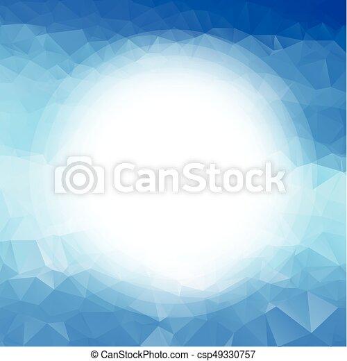 astratto, triangolo, fondo - csp49330757