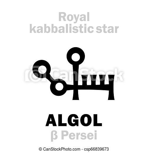 Astrology: ALGOL (The Royal Behenian kabbalistic star)
