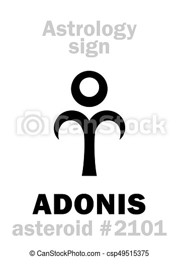 Astrology: asteroid ADONIS