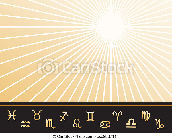 Astrology Poster  - csp9887114