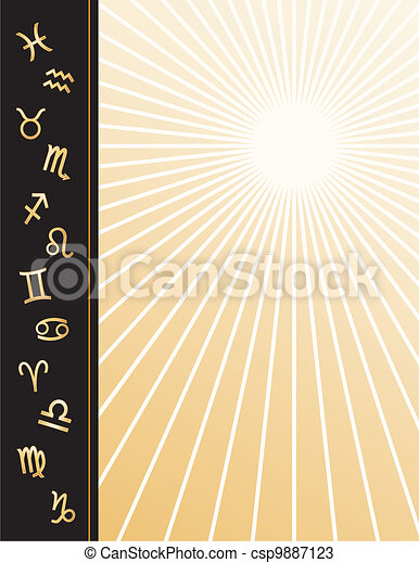 Astrology Poster  - csp9887123