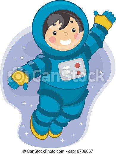 Astronaut Boy - csp10709067