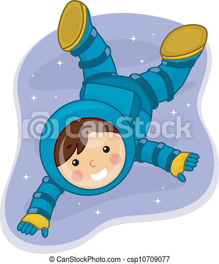 Astronaut Boy - csp10709077