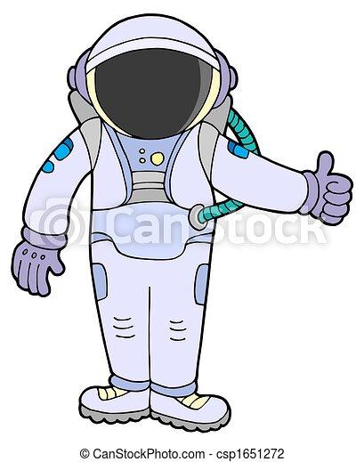 Astronaut - csp1651272