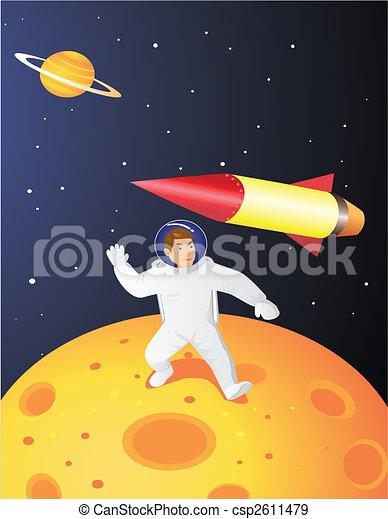 Astronaut - csp2611479