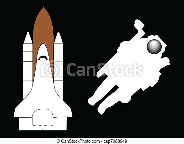astronaut - csp7088949