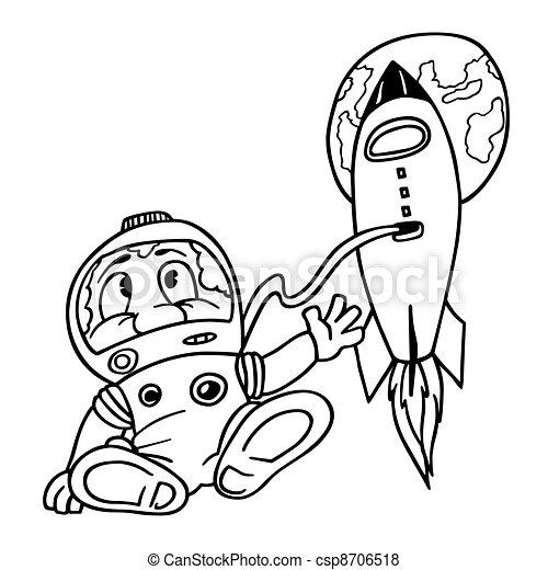 Astronaut - csp8706518