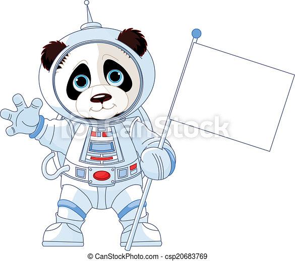 Astronaut Panda - csp20683769