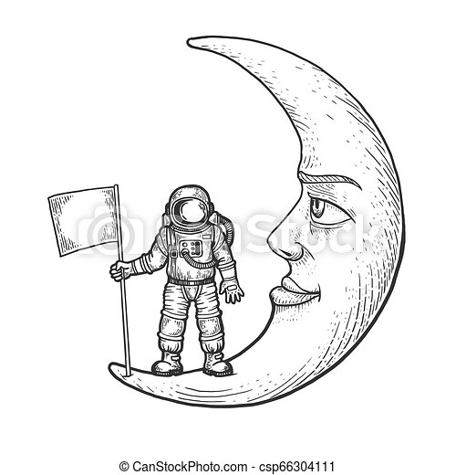 Moon Cool Scratch Art