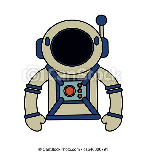 astronaut suit helmet space vector illustration eps 10 eps vectors rh canstockphoto com
