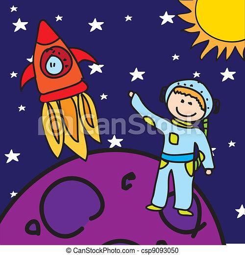 astronaut - csp9093050