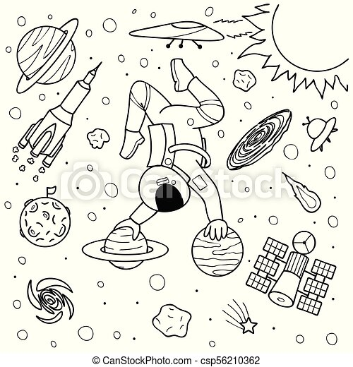 Astronaut yoga