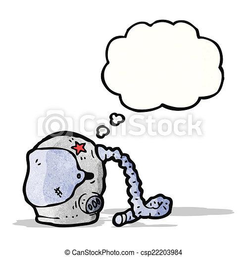 astronaute, dessin animé - csp22203984