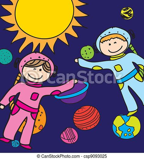astronauts - csp9093025