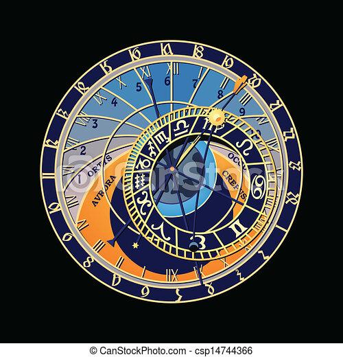Astronomical clock - csp14744366