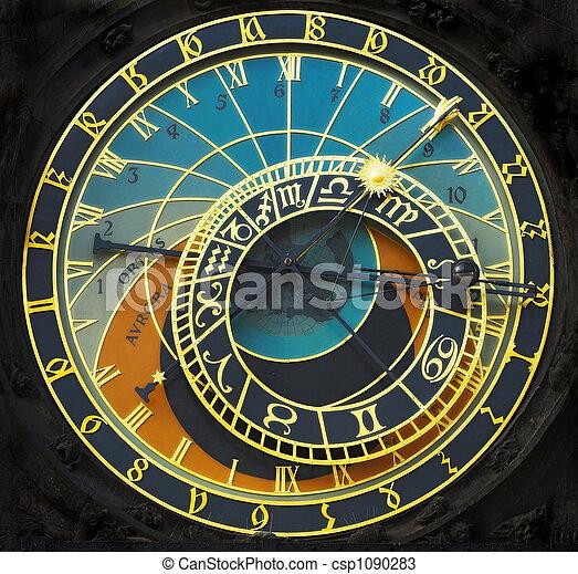 Astronomical clock - csp1090283